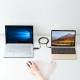 [KB-USB-LINK5] ドラッグ&ドロップ対応USB3.1Type-Cリンクケーブル(Mac/Windows対応)