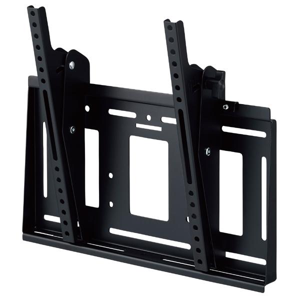 [MH-653B] HAMILeX 薄型テレビ壁掛金具 角度調節タイプ(前後チルト) ブラック (〜55V型くらい)