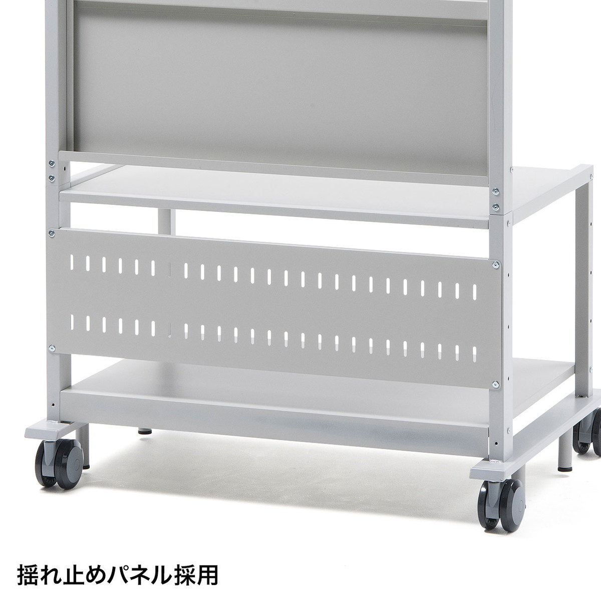 [CR-PL101SCGY] 【代引き不可】55〜84型対応液晶ディスプレイスタンド