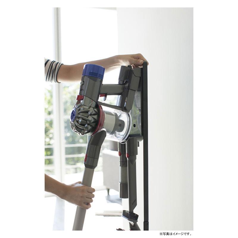 [03541] tower タワー コードレスクリーナースタンド ブラック 3541 コードレス 掃除機 スタンド 省スペース 収納 黒★