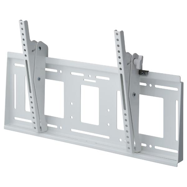 [MH-853W] HAMILeX 薄型テレビ壁掛金具 角度調節タイプ(前後チルト) ホワイト (〜85V型くらい)
