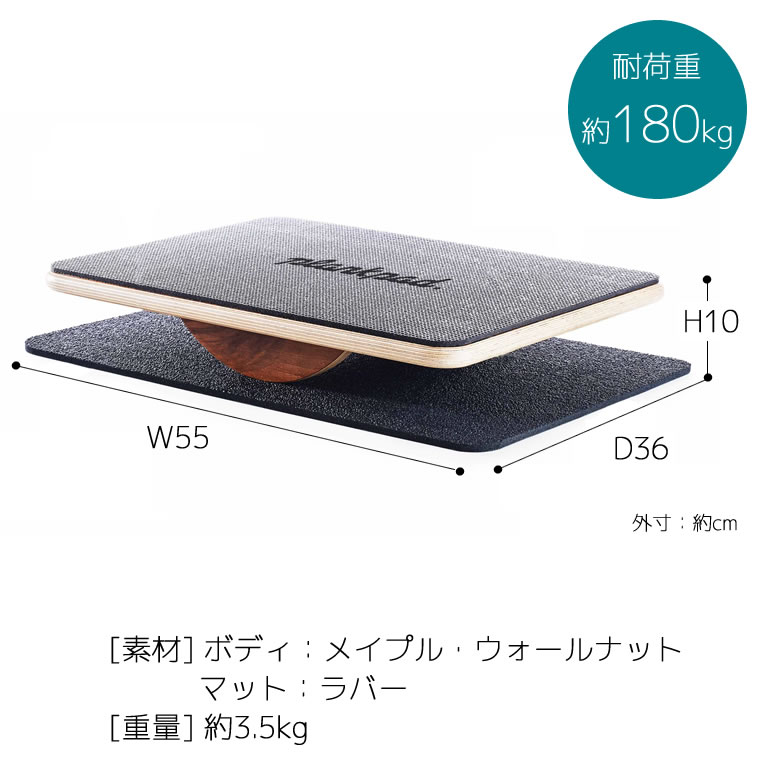 [PPD0001] Plankpad PRO プランクパッドプロ バランスボード★