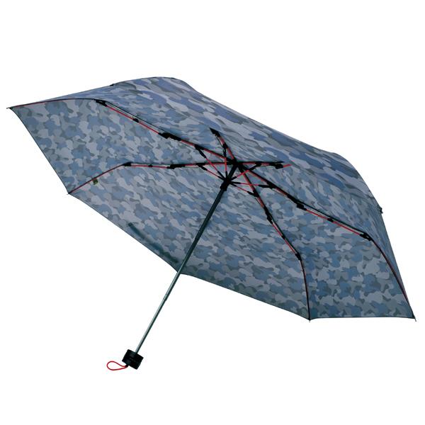 [SMV-40362] 高強度折りたたみ傘ストレングスミニ グレーカモ★