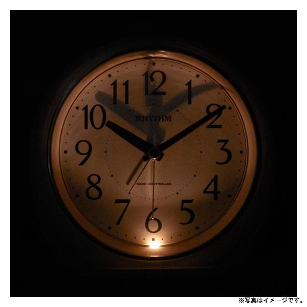 [4RL438SR03] 電波めざまし時計フィットウェーブA438