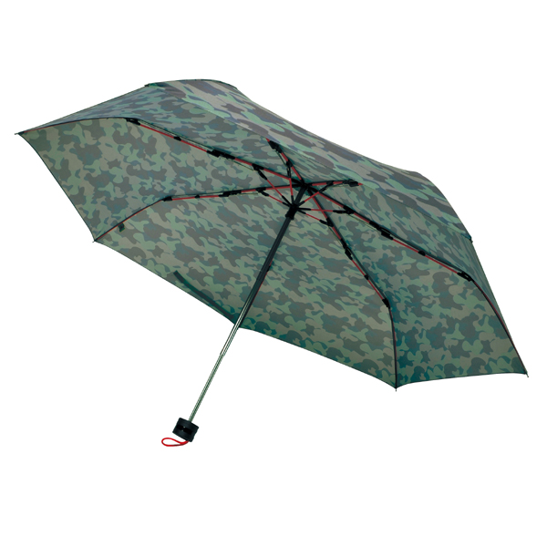 [SMV-40363] 高強度折りたたみ傘ストレングスミニ カーキカモ★