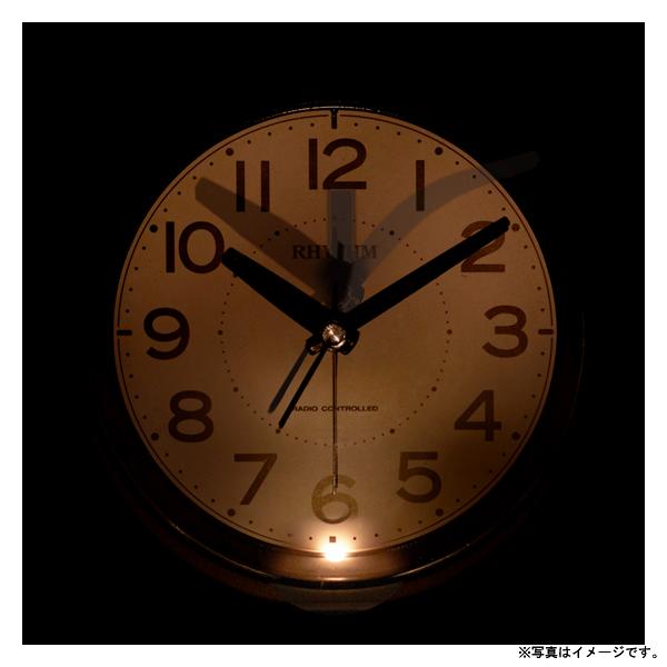 [4RL438SR19] 電波めざまし時計フィットウェーブA438