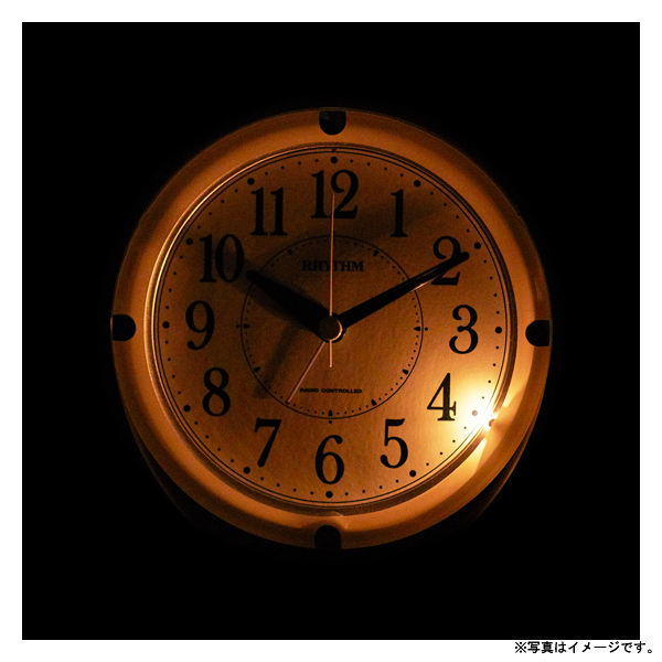 [4RL439SR04] 電波めざまし時計フィットウェーブA439