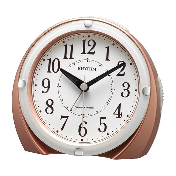 [4RL439SR13] 電波めざまし時計フィットウェーブA439