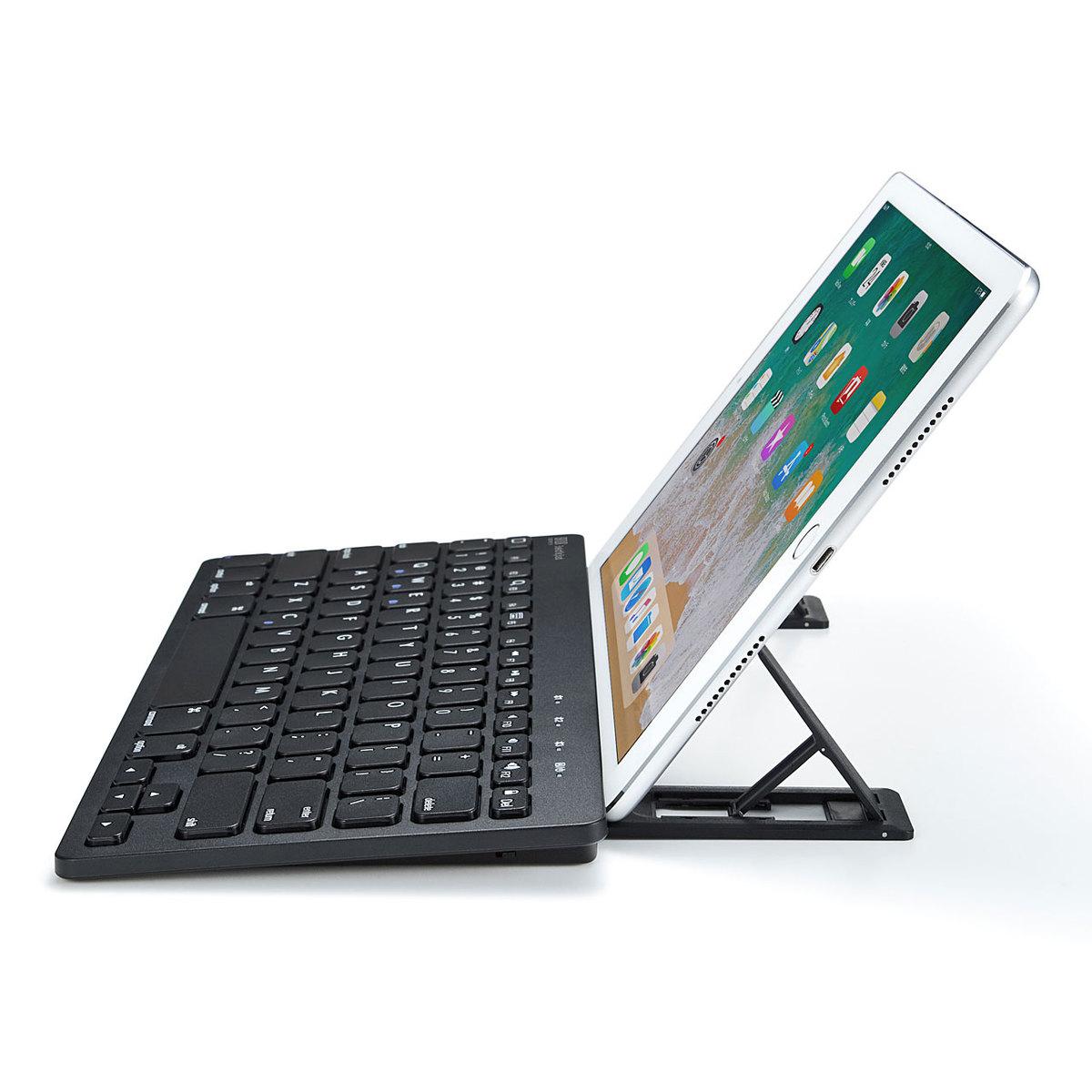 [SKB-BT28BK] タブレットスタンド機能付き Bluetoothキーボード