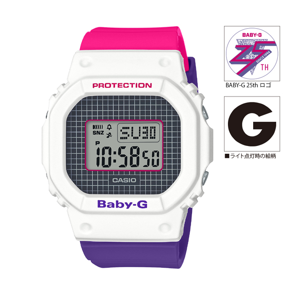 [BGD-560THB-7JF] BABY-G Throwback 1990s