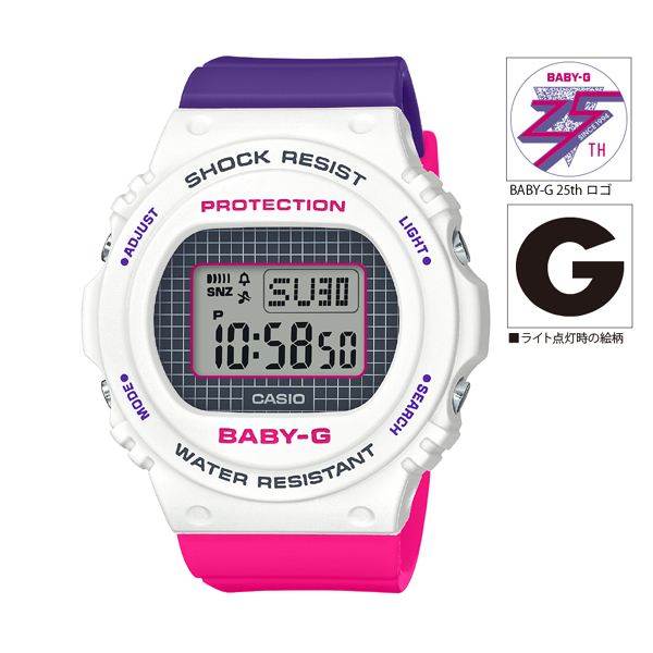 [BGD-570THB-7JF] BABY-G Throwback 1990s
