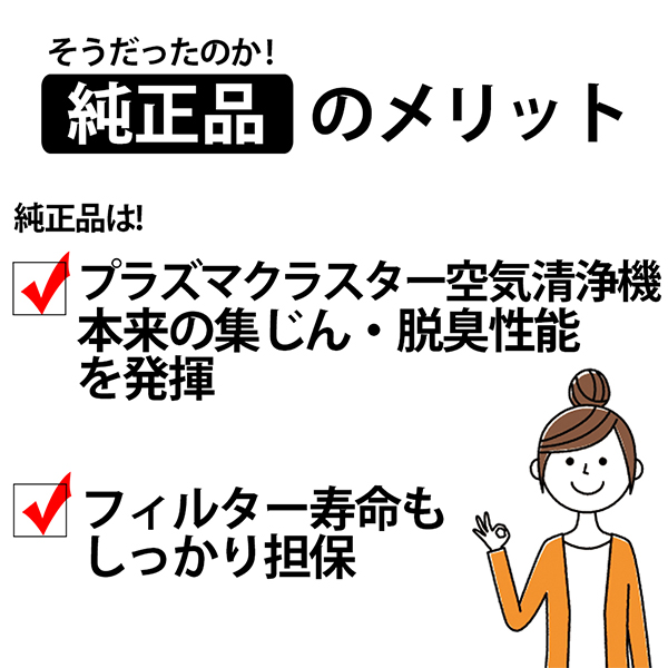 [FZ-N15SF] 集じん・脱臭一体型フィルター★