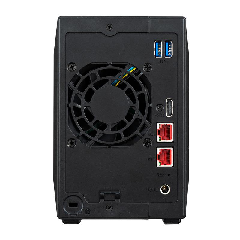 [AS5202T] Nimbustor 2 eスポーツスタイルモデル 2ベイNAS デュアル2.5GbE搭載 Celeron J4005(Gemini Lake)搭載 2GB(DDR4-2400)