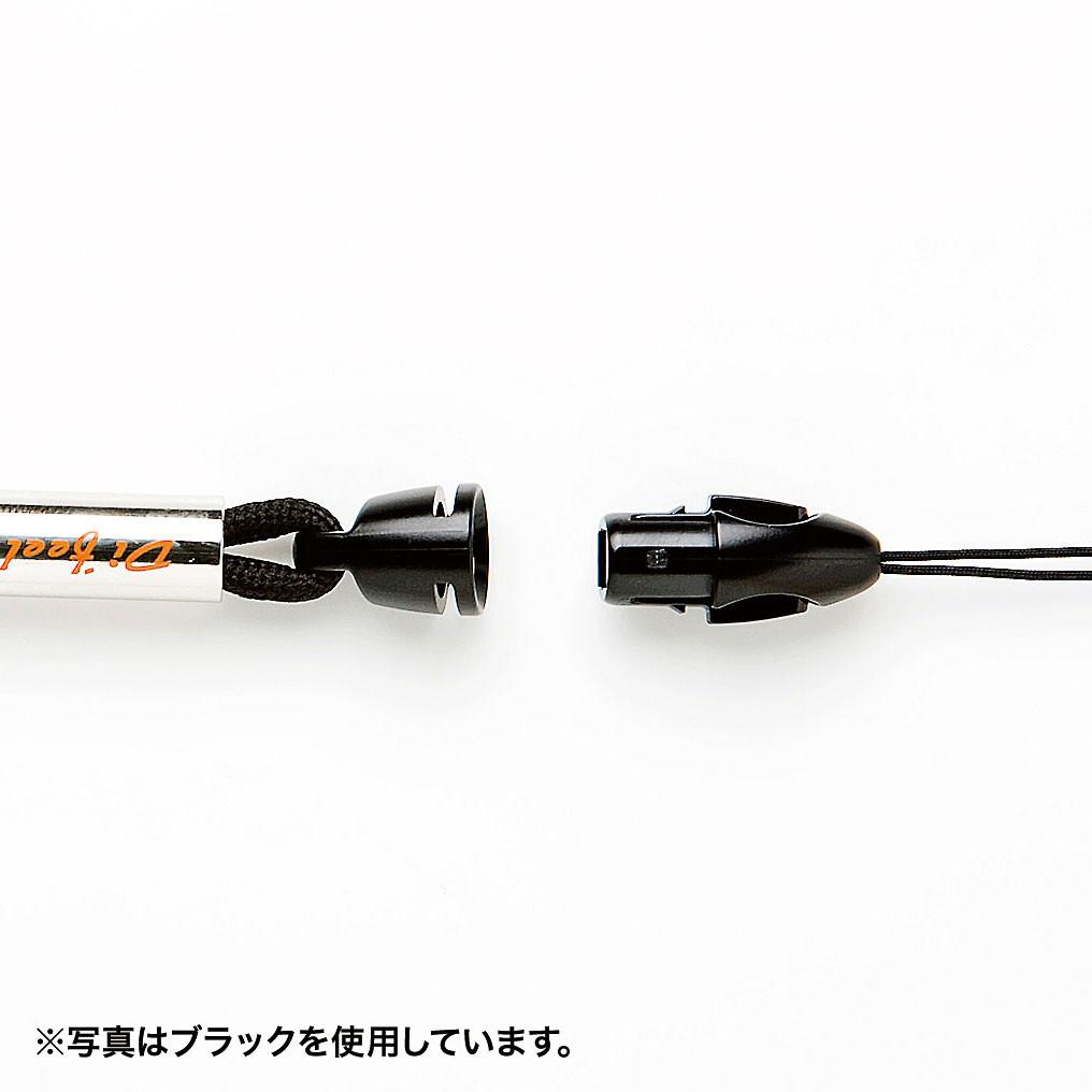 [DG-ST15BL] ネックストラップ(細紐) ブルー