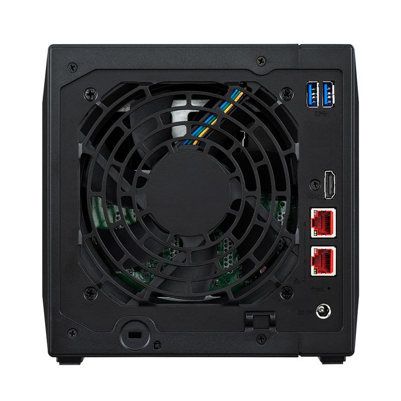 [AS5304T] Nimbustor 2 eスポーツスタイルモデル 4ベイNAS デュアル2.5GbE搭載 Celeron J4105(Gemini Lake)搭載 4GB(DDR4-2400)