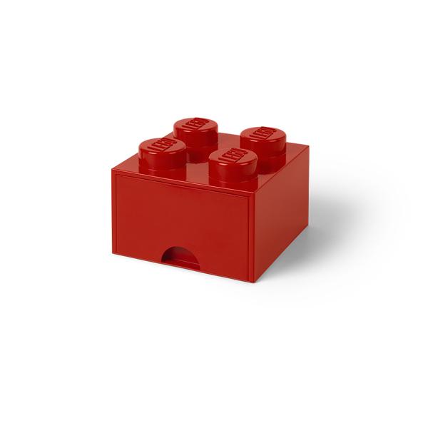 [5711938029418] レゴ ブリック ドロワー4 ブライトレッド
