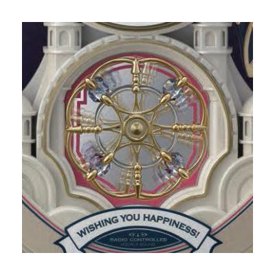 [4MN543RH18] 電波アミュージング時計 スモールワールドカラーズ シャンペンゴールド色(白)