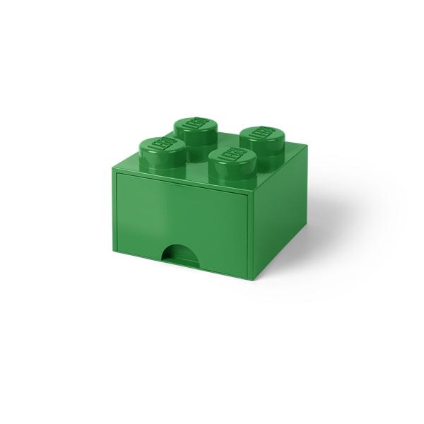 [5711938029456] レゴ ブリック ドロワー4 ダークグリーン★
