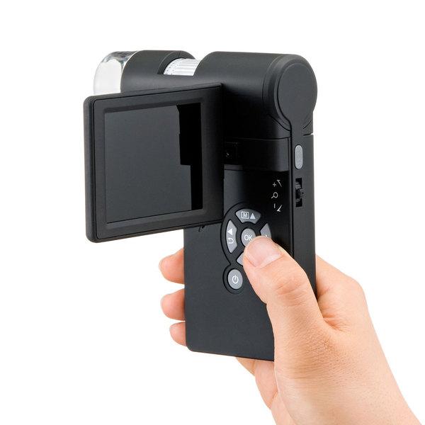 [LPE-05BK] デジタル顕微鏡 光学ズーム最大300倍