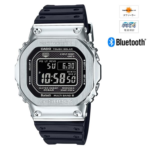 [GMW-B5000-1JF] G-SHOCK MULTIBAND6 ソーラー電波時計 Bluetooth通信機能