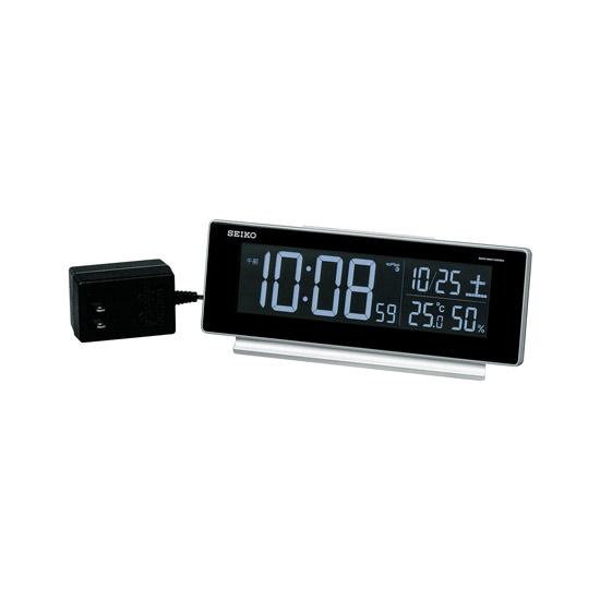 [DL207S] 電波目覚まし時計