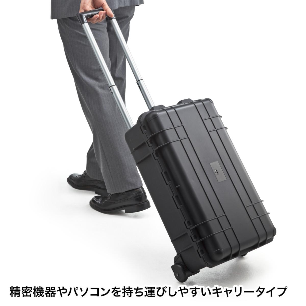 [BAG-HD3] ハードツールケース(キャリータイプ・精密機器・保管)