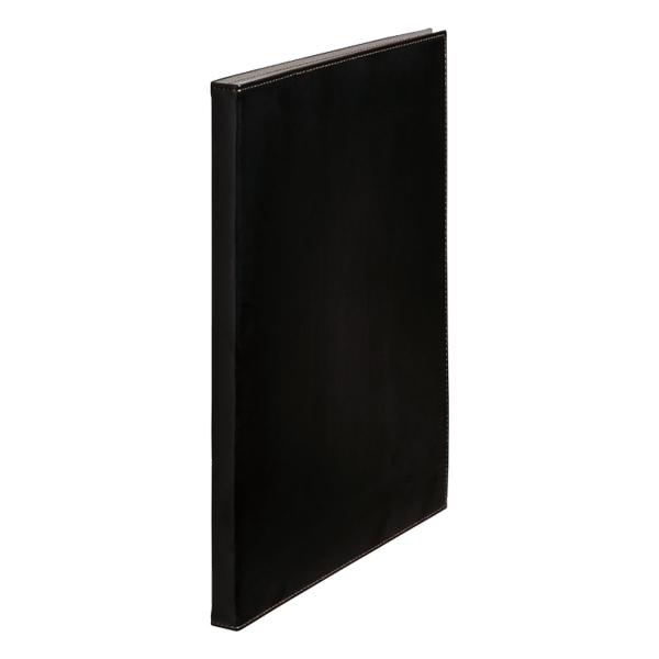 [1931LFWBK] レザフェス クリアーファイル40P 黒
