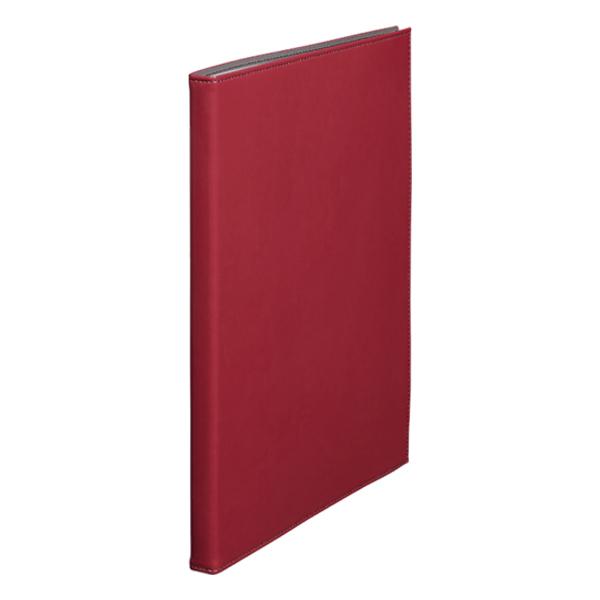 [1931LFWRD] レザフェス クリアーファイル40P 赤