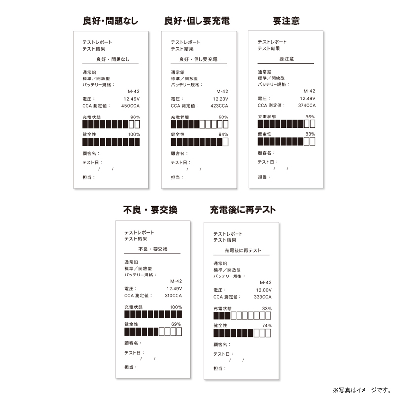 [DS6] バッテリーテスター ISS・HV車用プログラム搭載 バッテリー&システムテスター プリンター搭載 DHC-DS★