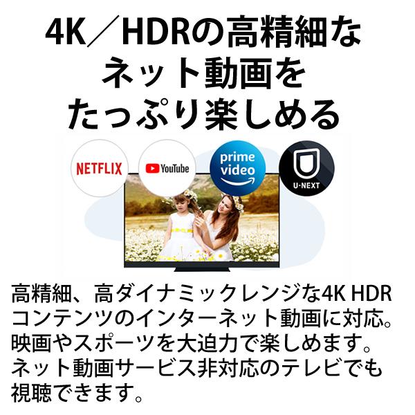 [DMR-4T401] おうちクラウドDIGA(ディーガ) 4Kチューナー内蔵モデル 4TB HDD搭載 ブルーレイレコーダー 3チューナー