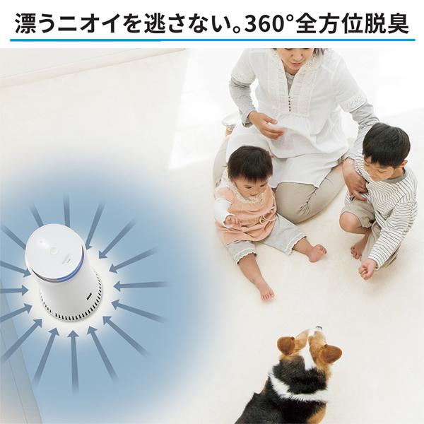 [DY-S01-W] 除菌脱臭機 プラズマクラスターNEXT搭載 ホワイト系