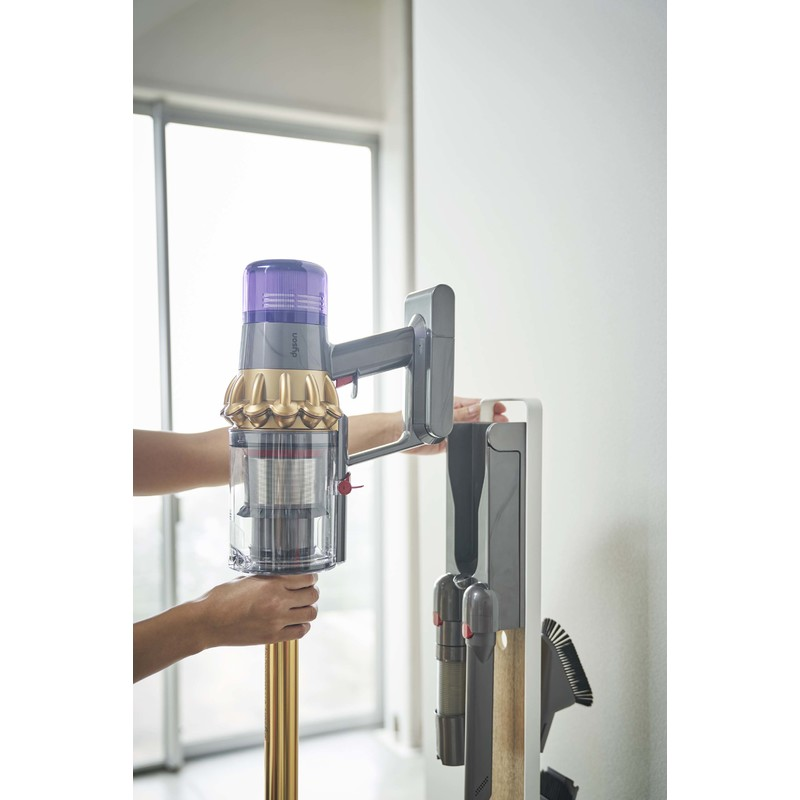 [04899-5R2] RIN リン コードレスクリーナースタンド ナチュラル 4899 ダイソン 掃除機 ハンディ ツール スティッククリーナー コンパクト
