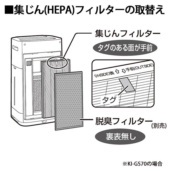 [FZ-D70HF] 集じんフィルター(HEPAフィルター)★