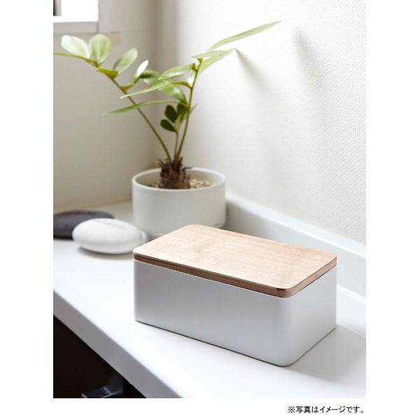 [07695] RIN リン 天然木ウェットシートケース ナチュラル 7695 ウェットティッシュ 木製★