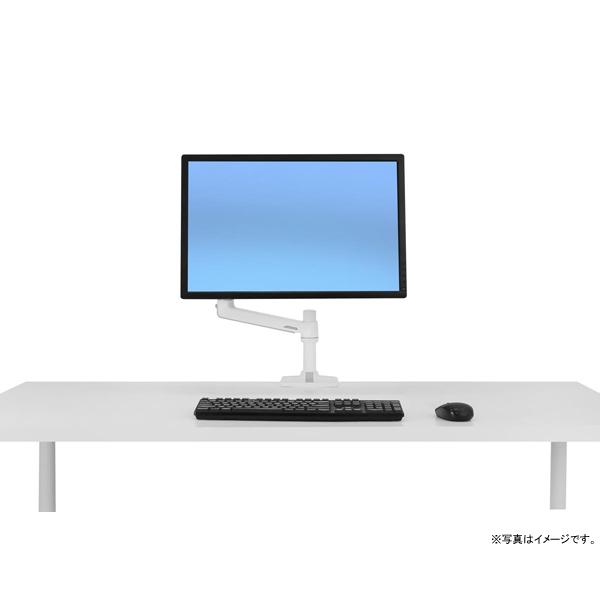 [45-490-216] LXデスクマウントアーム (ホワイト)