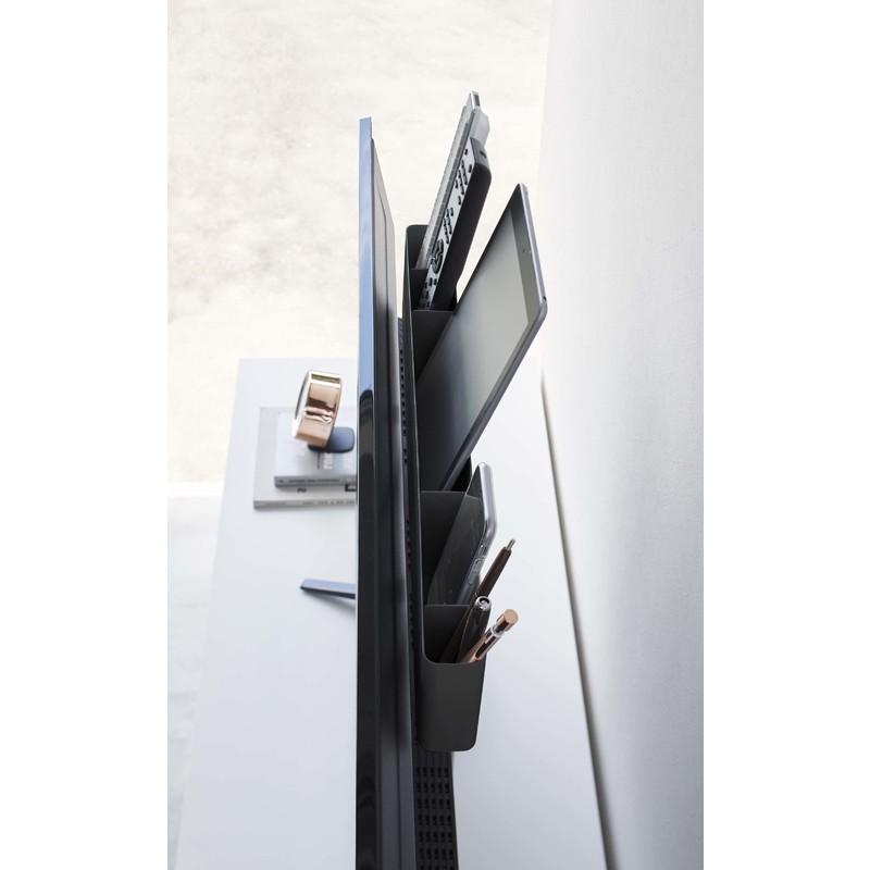 [04879-5R2] smart スマート テレビ裏リモコンラック ブラック 4879 収納 ペン タブレット iPad スマートフォン 省スペース VESA★