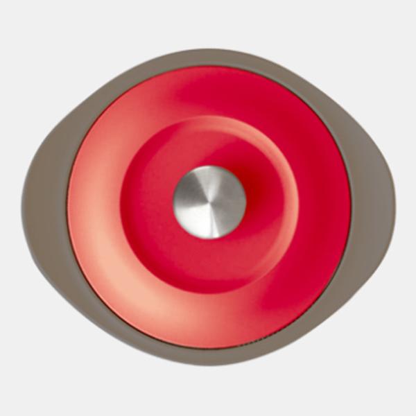 [ACA-160-R] ilma LIVING JAR イルマ リビングジャー レッド 電子レンジ保温調理器