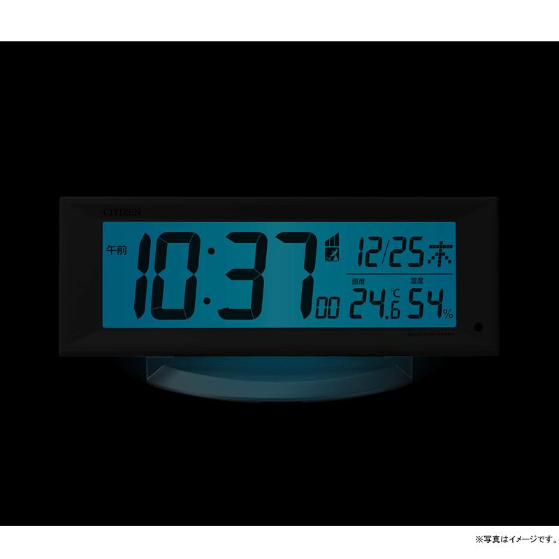 [8RZ202-003] 電波めざまし時計