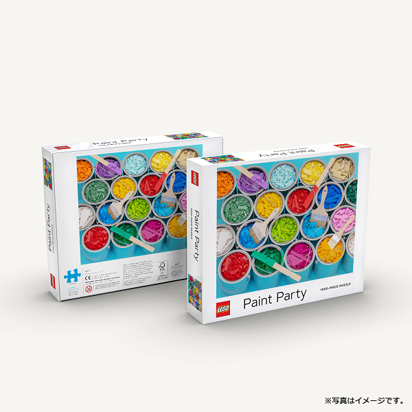 [CBPZL-001] LEGO Paint Party Puzzle 1000ピース パズル★