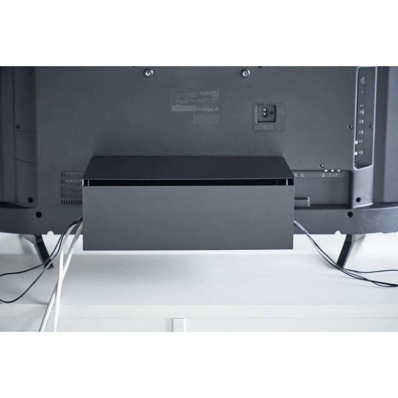 [04988-5R2] smart スマート テレビ裏ケーブルボックス ブラック 4988 収納 電源タップ 箱 省スペース VESA★