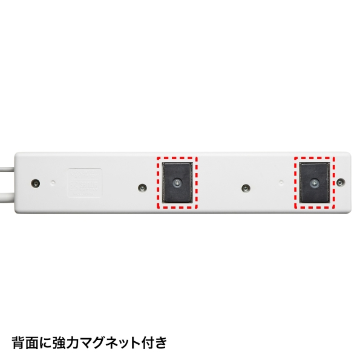 [TAP-RE34U-2] パソコン連動タップ(USB感知式・3P・4個口・2m)