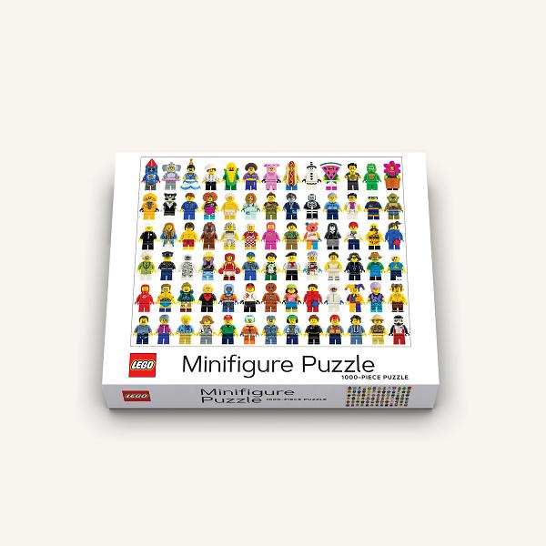 [CBPZL-004] LEGO Minifigure Puzzle 1000ピース パズル★