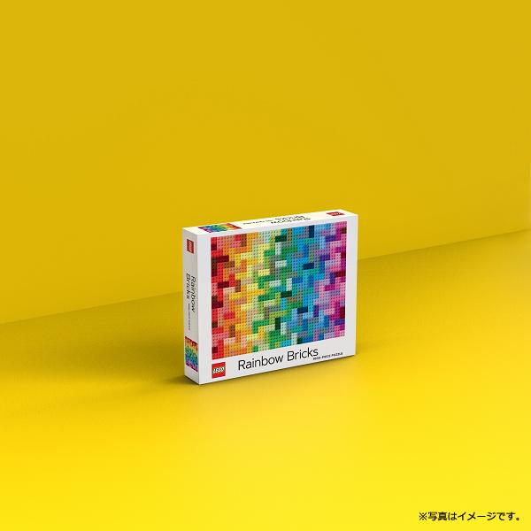 [CBPZL-005] LEGO Rainbow Brick Puzzle 1000ピース パズル★