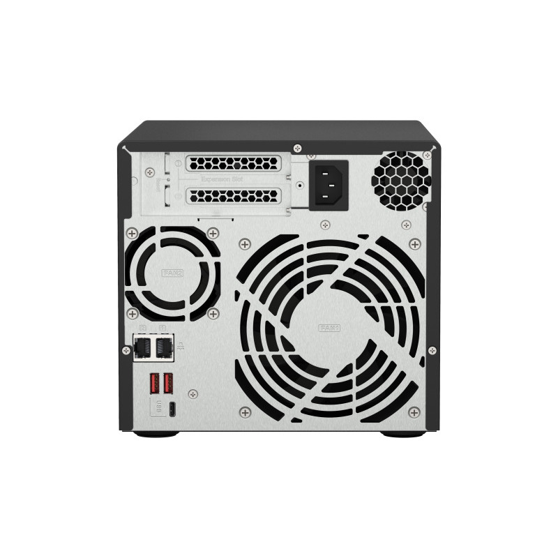 [TS-473A-8G] 4ベイNAS Ryzen V1500B 2.2GHz メモリ8G搭載