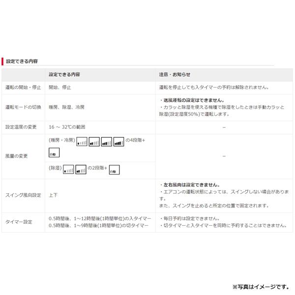 [SP-RC4] 純正エアコンかんたんリモコン★