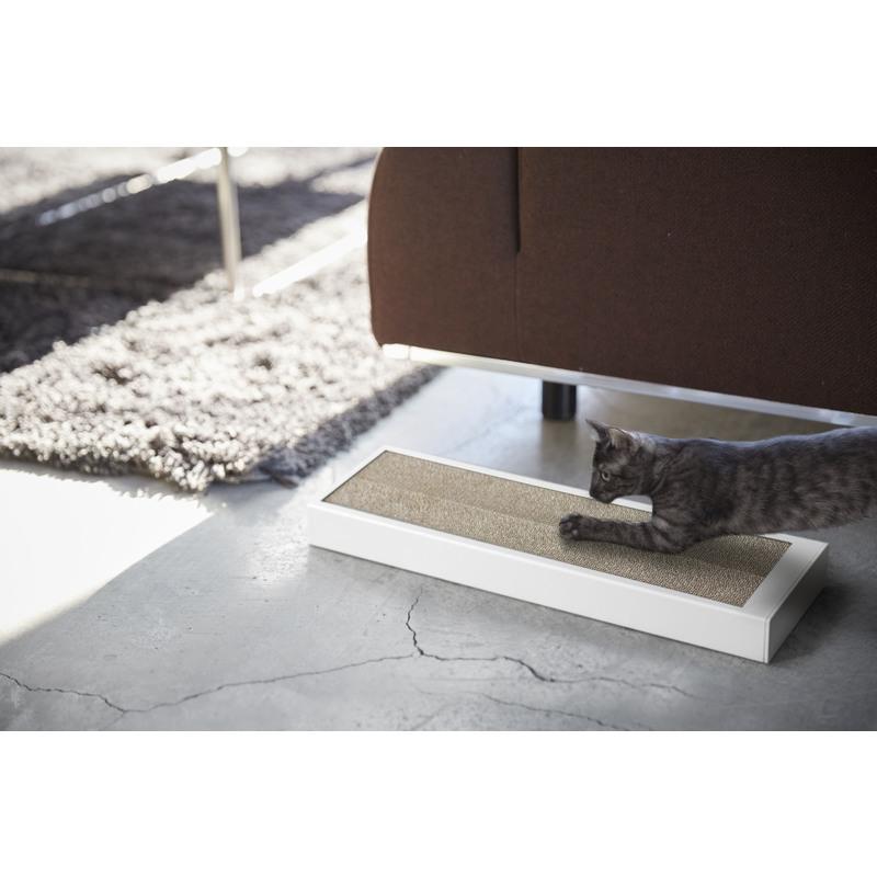 [04210-5R2] tower タワー 猫の爪とぎケース ホワイト 4210(ケースのみの販売です)★