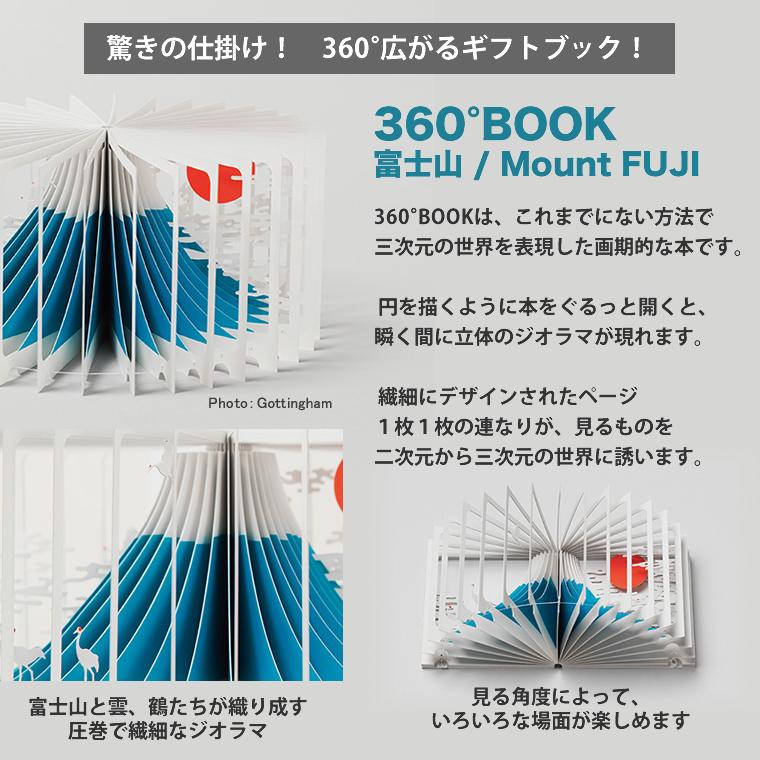[9784861525162] 360°BOOK 富士山 Mount FUJI★