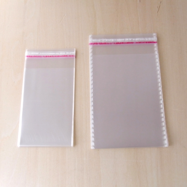 【最安値?】OPP袋粘着シール付 <お徳用>♪ 透明 店舗什器 ディスプレイ用品 梱包 ラッピング 包装 梱包 ラッピング ポリ袋