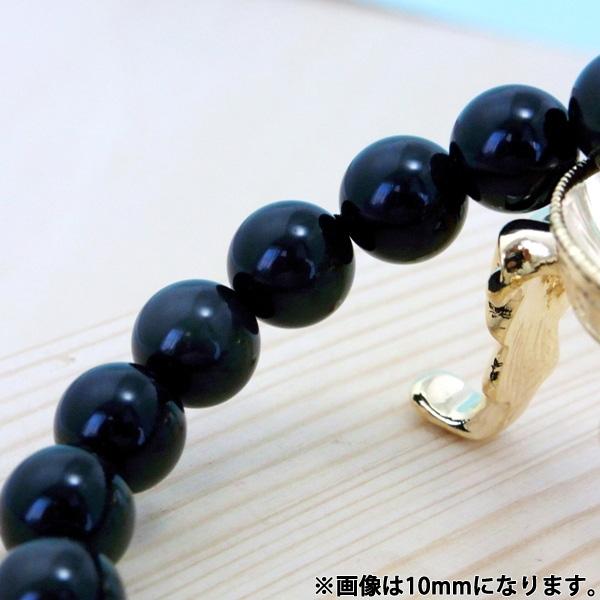 癒しの黒曜石◆オブシディアン(10mm)ブレスレット