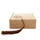 ブレスレット専用ケース タッセル付き ベージュカラー 化粧箱 ボックス